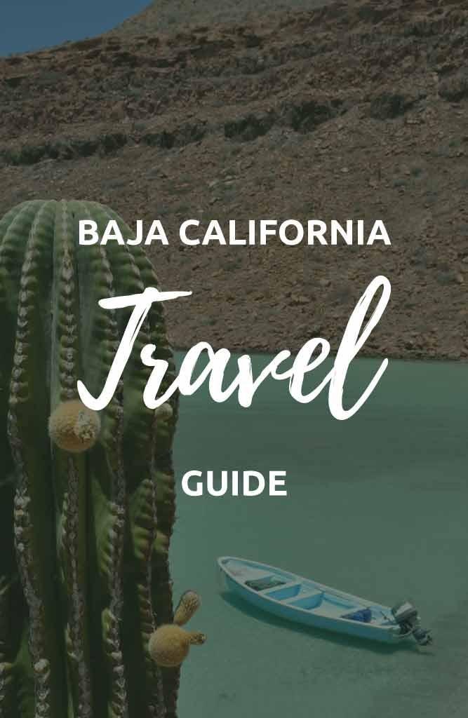 backpacking in baja california