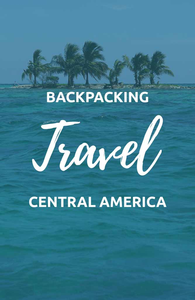 backpacking central america