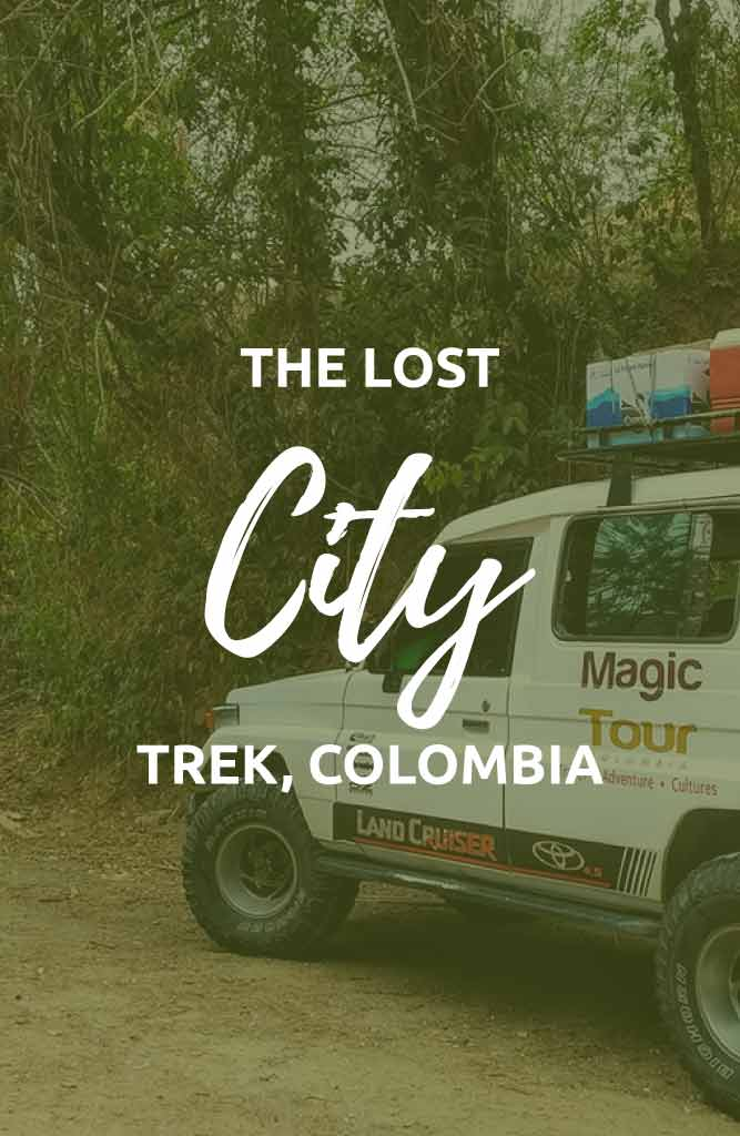 lost city hike colombia