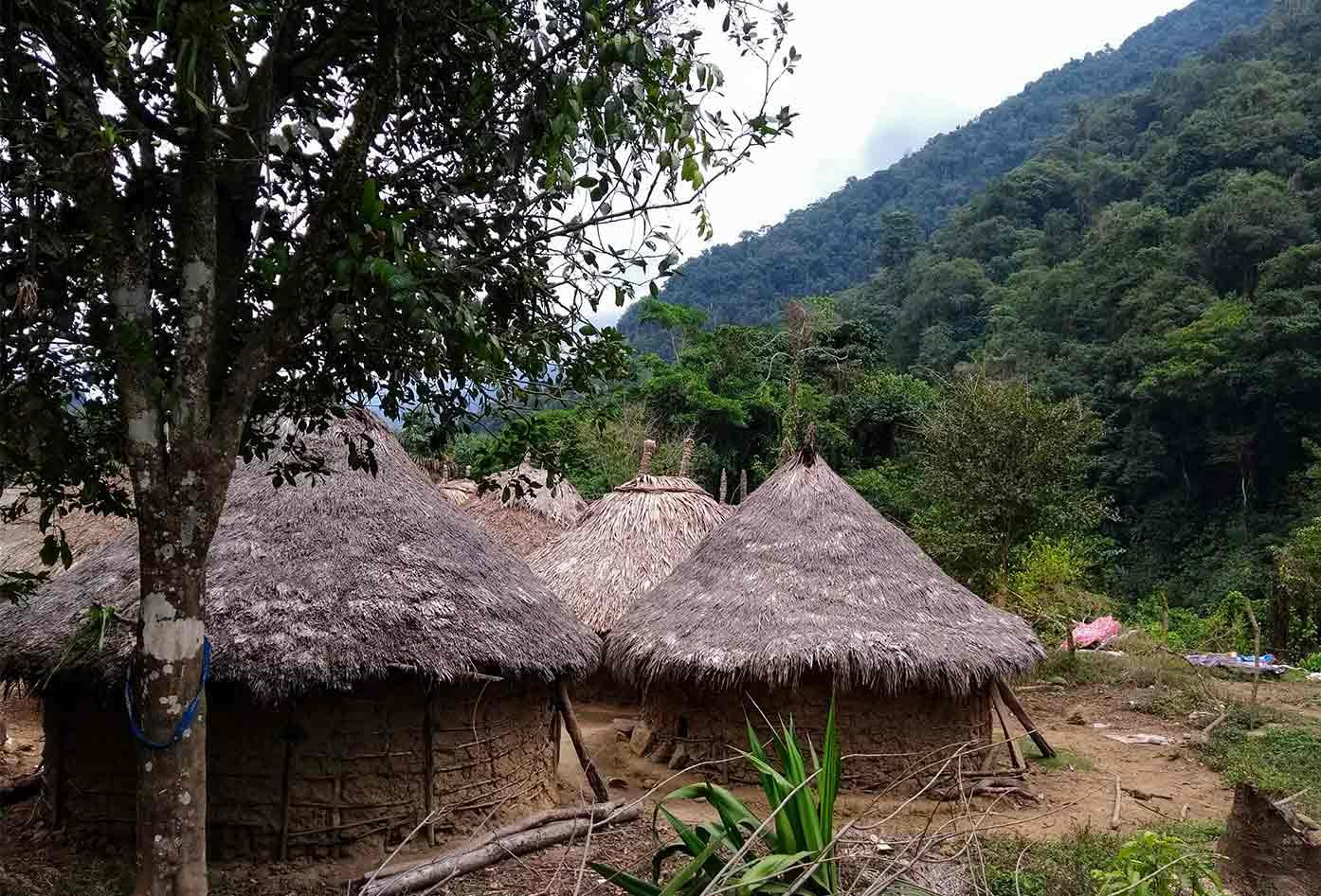 lost city trek huts