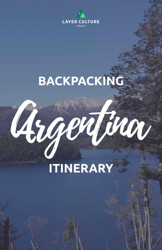 backpacking argentina