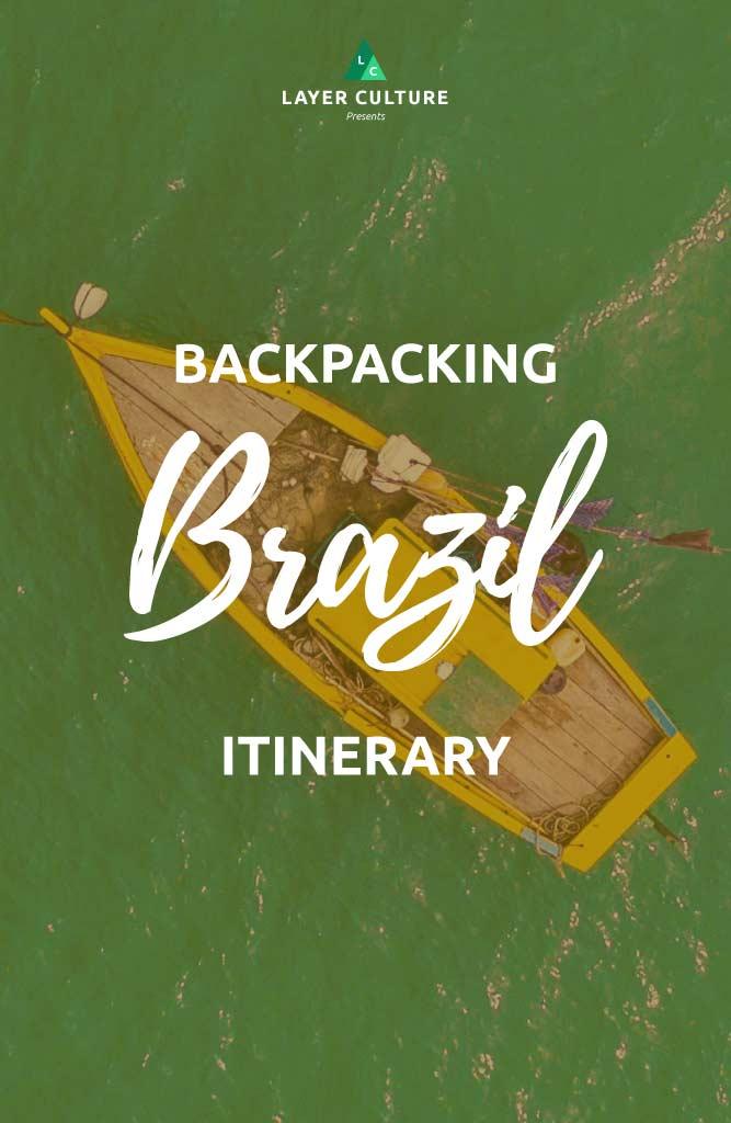 brazil itinerary