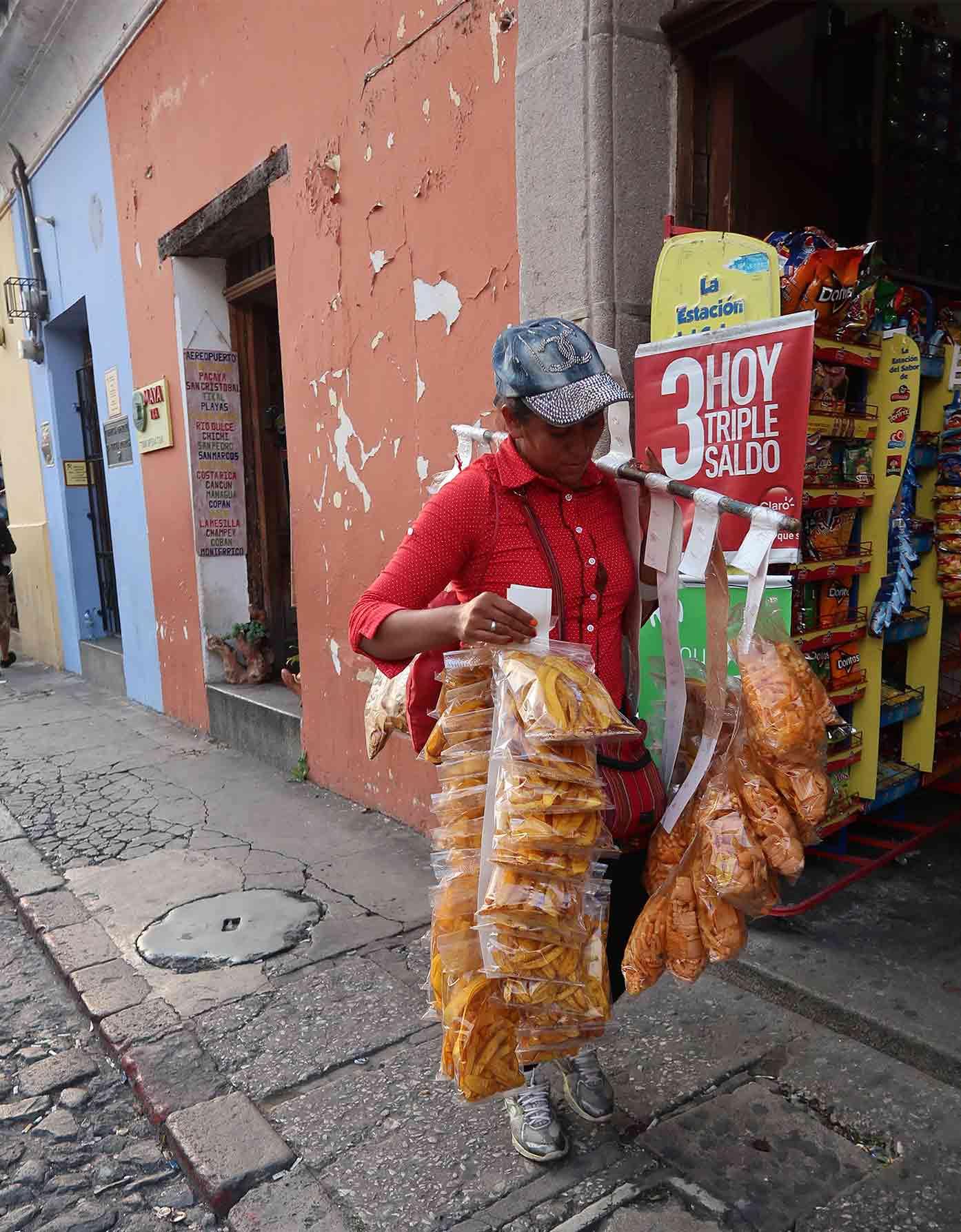 street seller guatemala