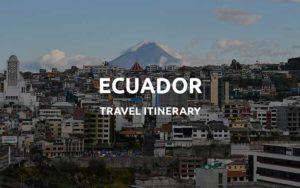 ecuador itinerary featured