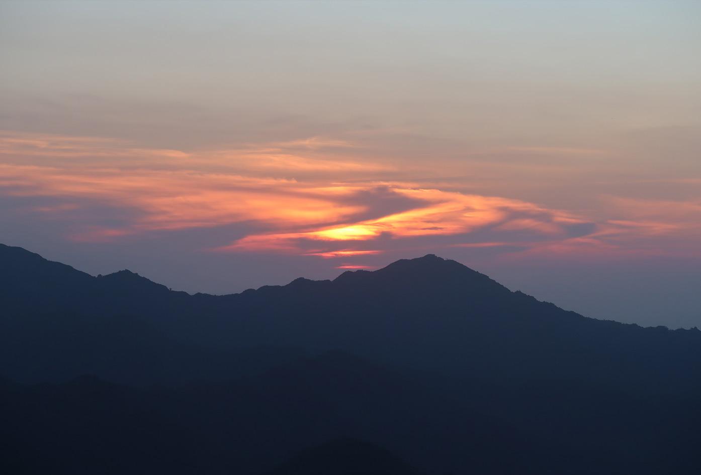 nuevo mundo sunset