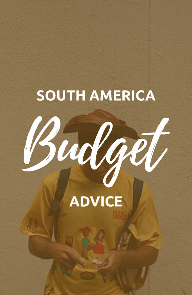 south america travel budget