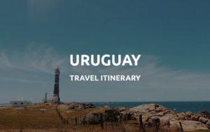 uruguay itinerary