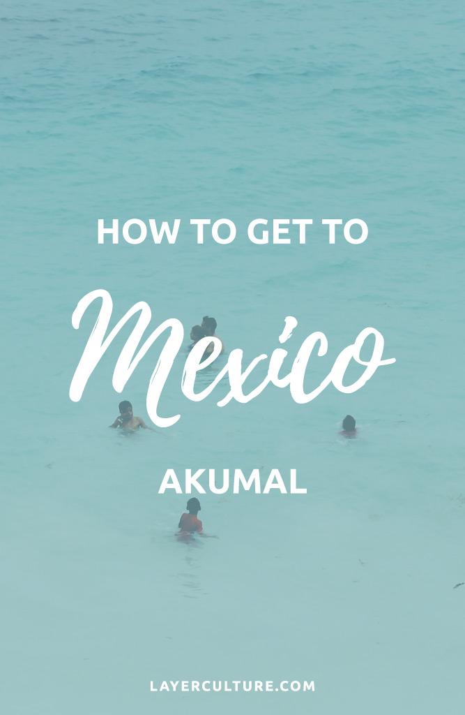 akumal from playa del carmen