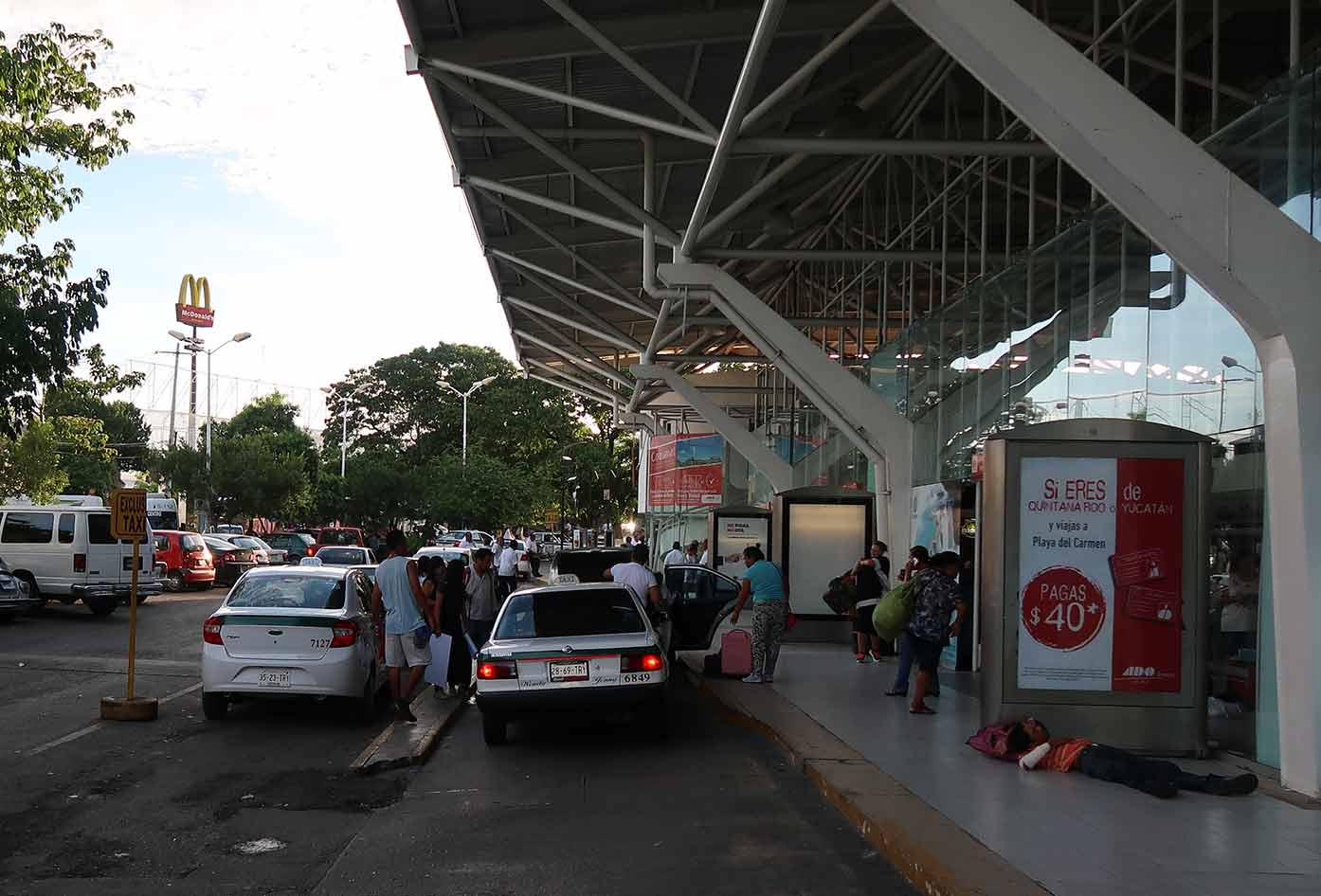 cancun bus station