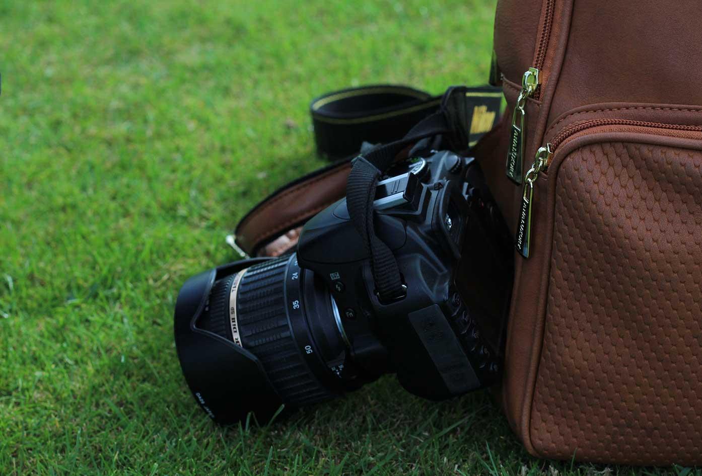 anti theft camera bag