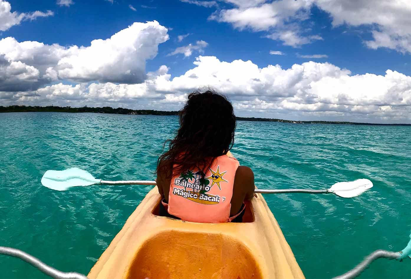 bacalar guide kayak