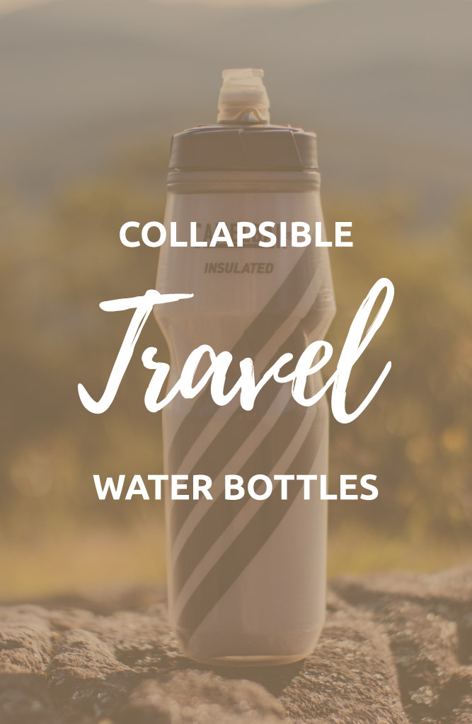 collapsible water bottle travel
