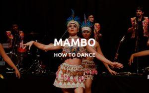 how to dance mambo
