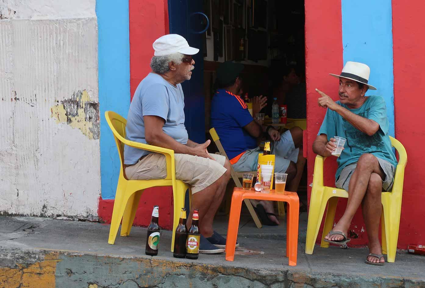locals in olinda brazil