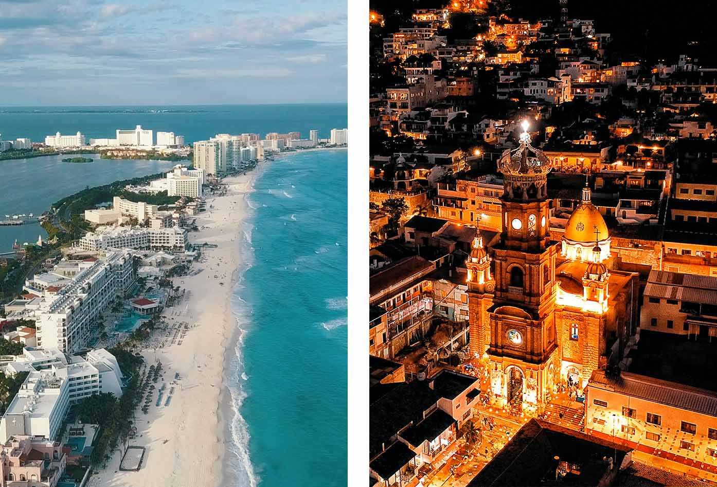 puerto vallarta vs cancun