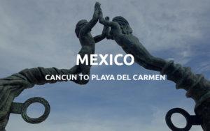 cancun to playa
