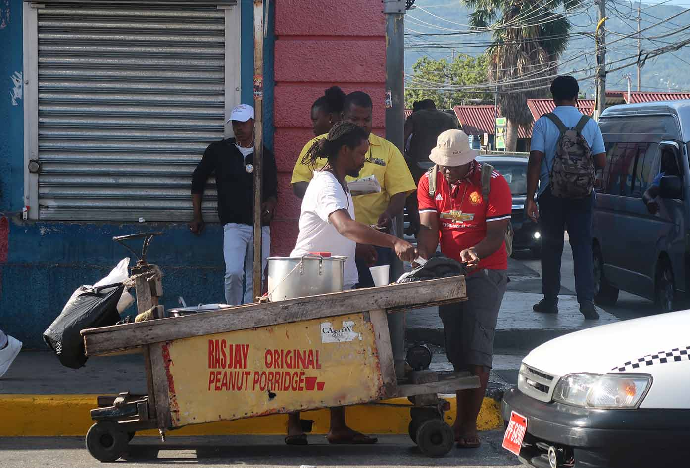 montego bay street food
