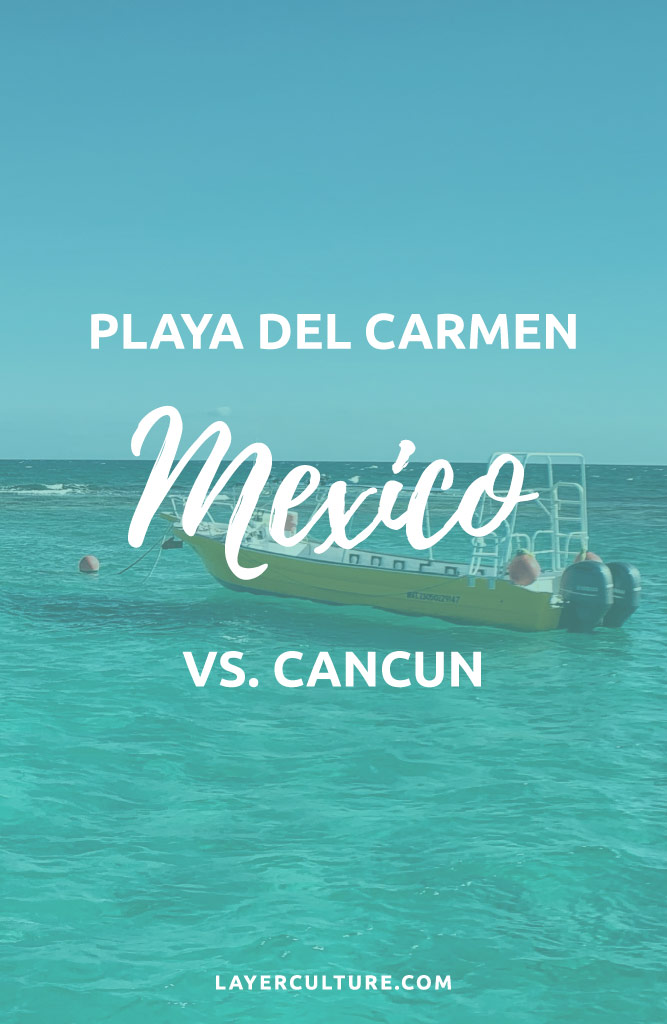 playa vs cancun mexico