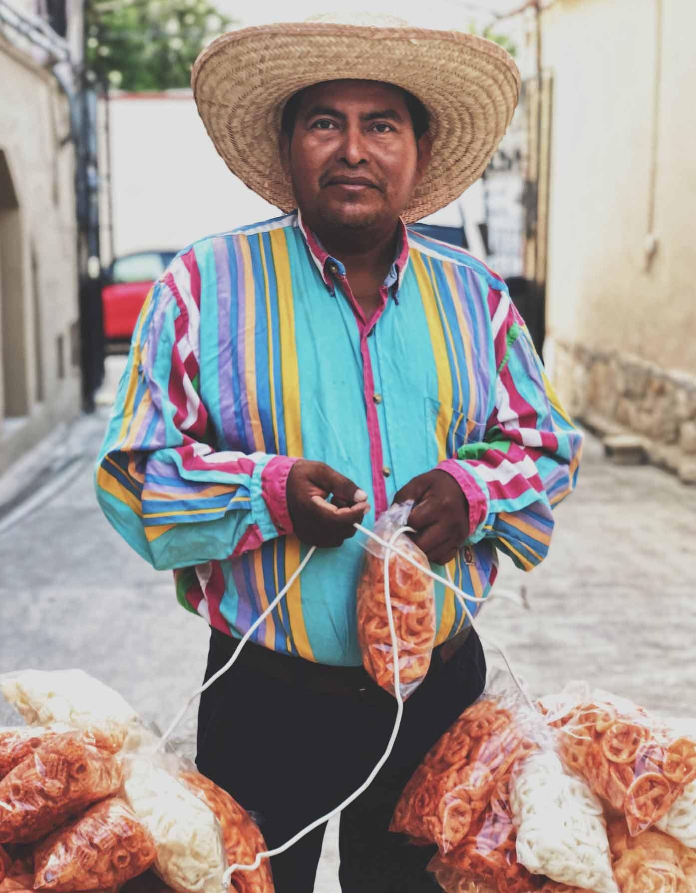 street vendor in cabo