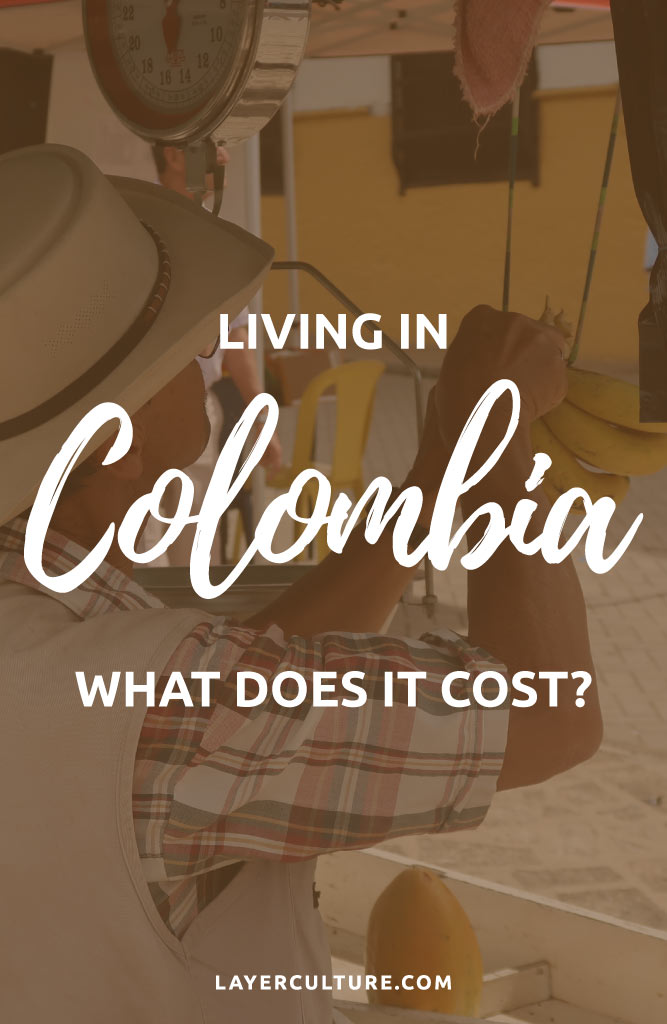 cost of living colombia