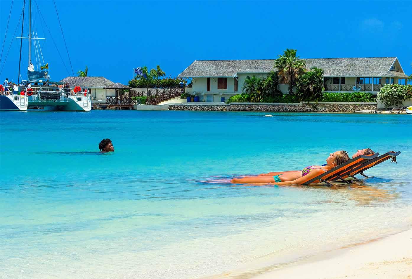 swimming in jamaica