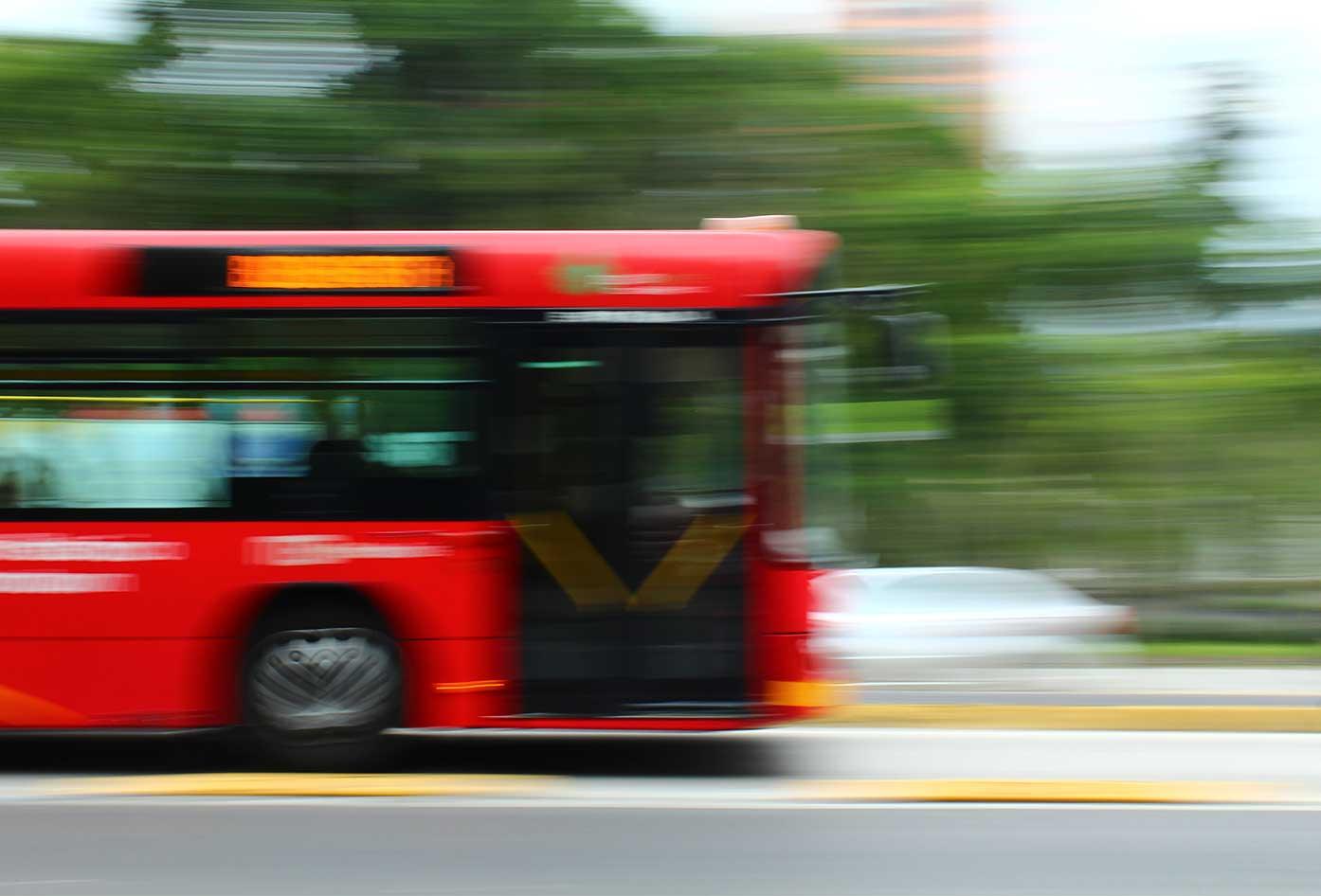 bus in mexico city