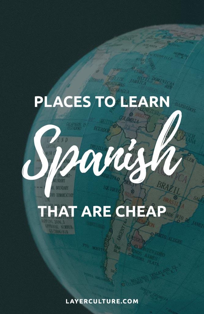 cheap spanish speaking countries to visit pin