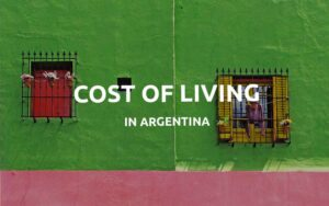 cost of living argentina