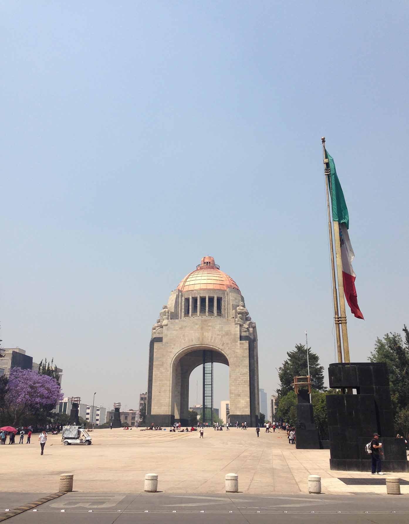 monument revolution mexico city