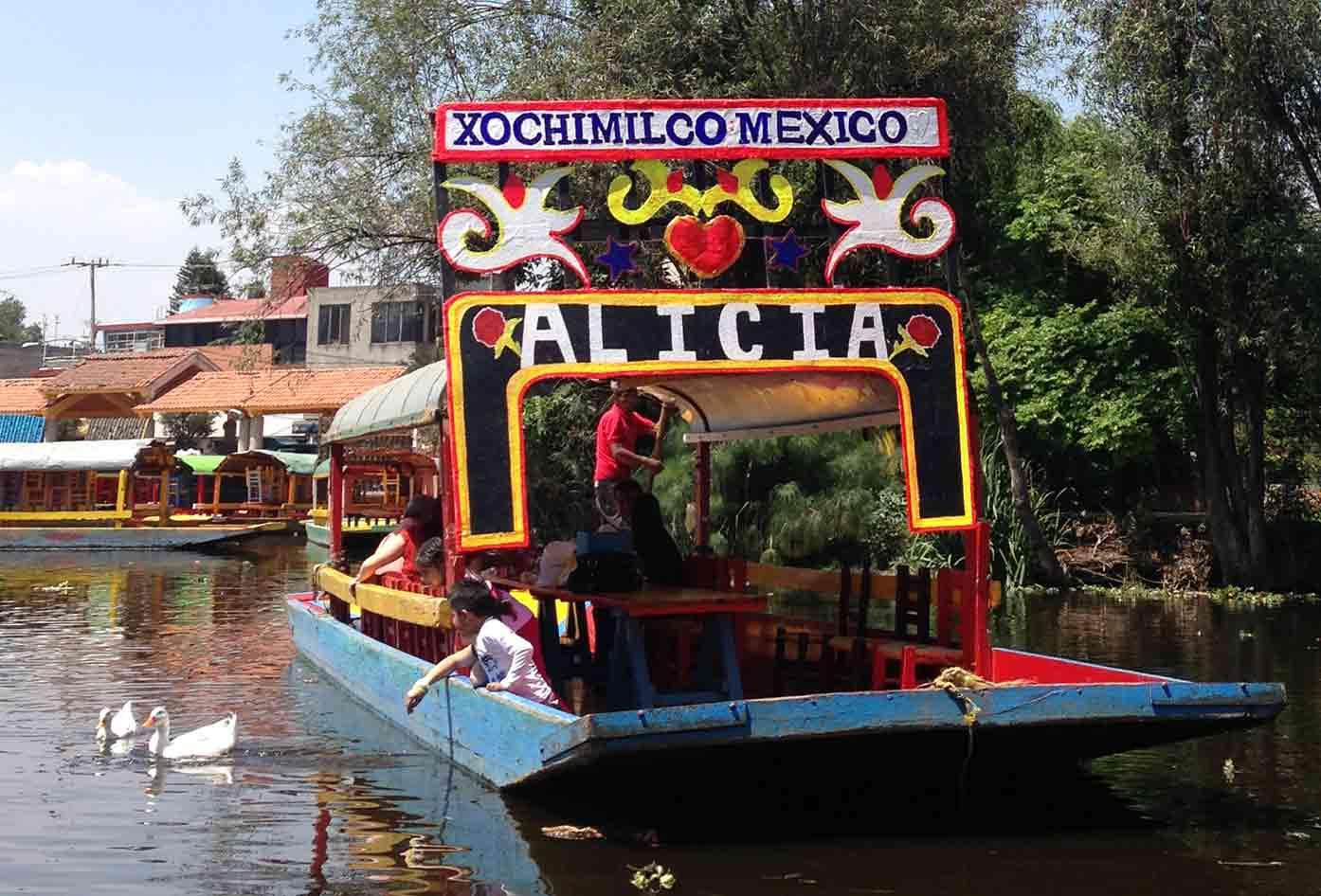 xochimilco boats floating gardens