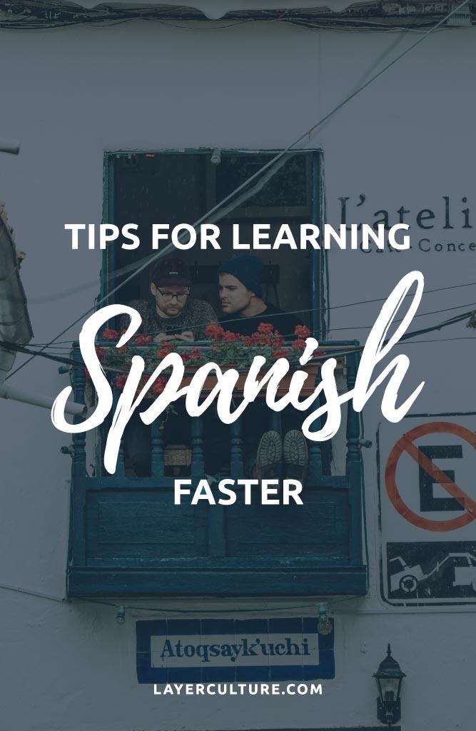 speak spanish faster