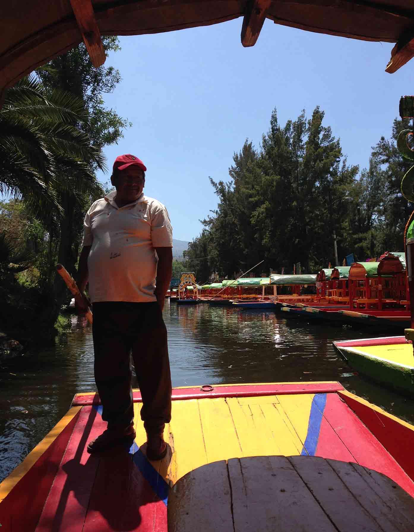 xochimilco conductor
