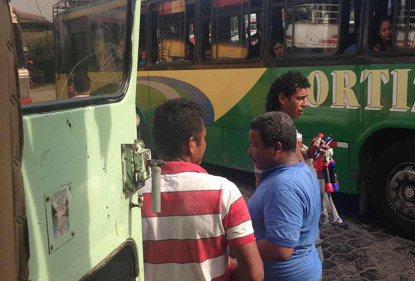 bus in nicaragua