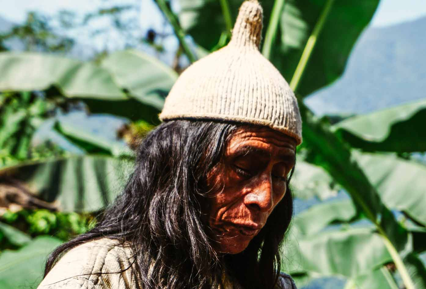 indigenous tribesman colombia