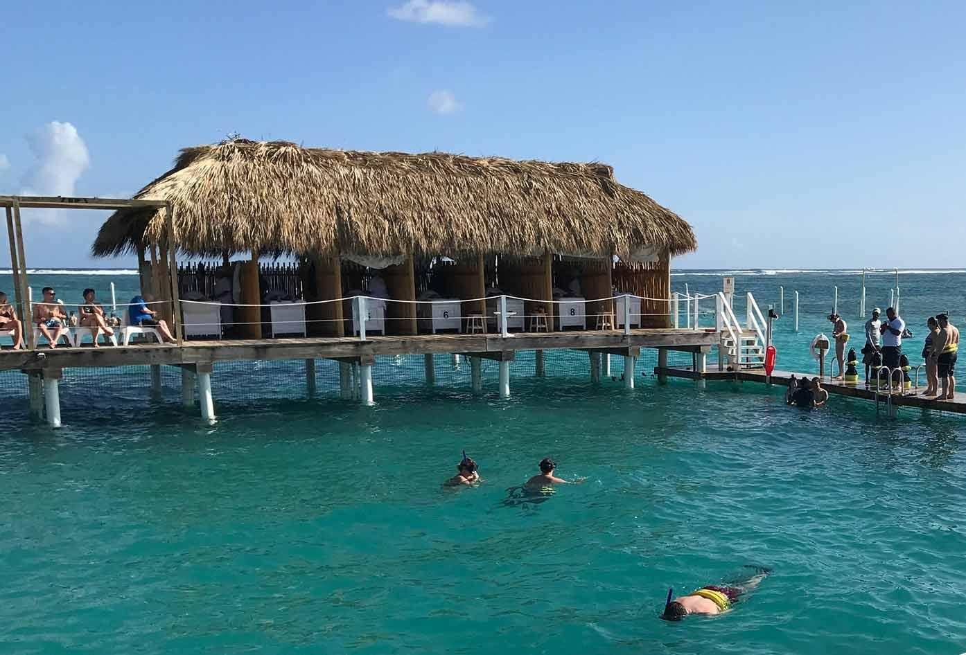 punta cana or rivera maya snorkeling