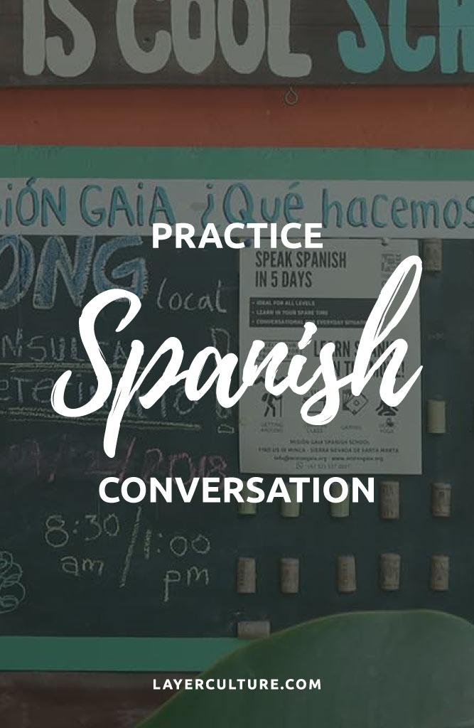 spanish conversation practice