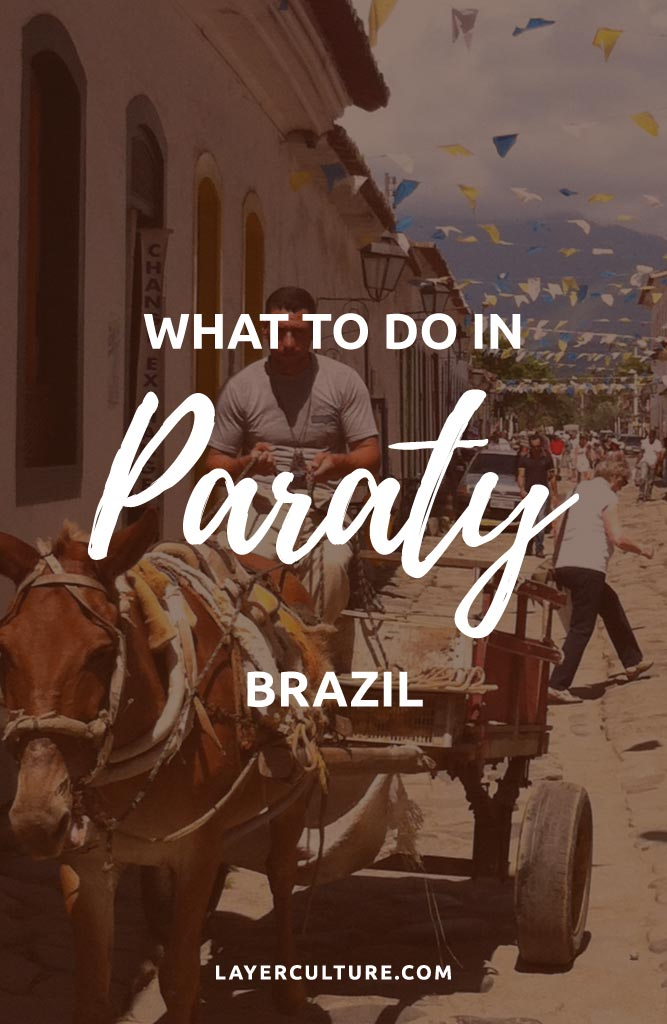 paraty brazil pin