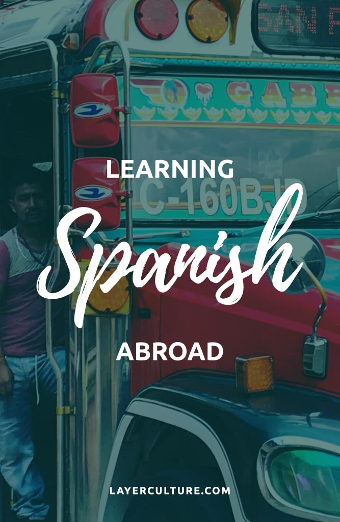 learning spanish abroad
