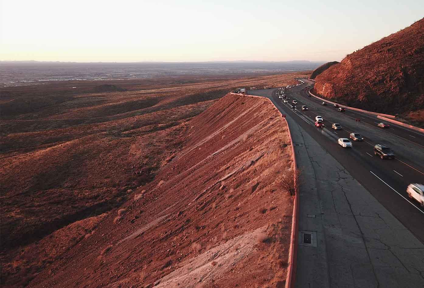 trans mountain road