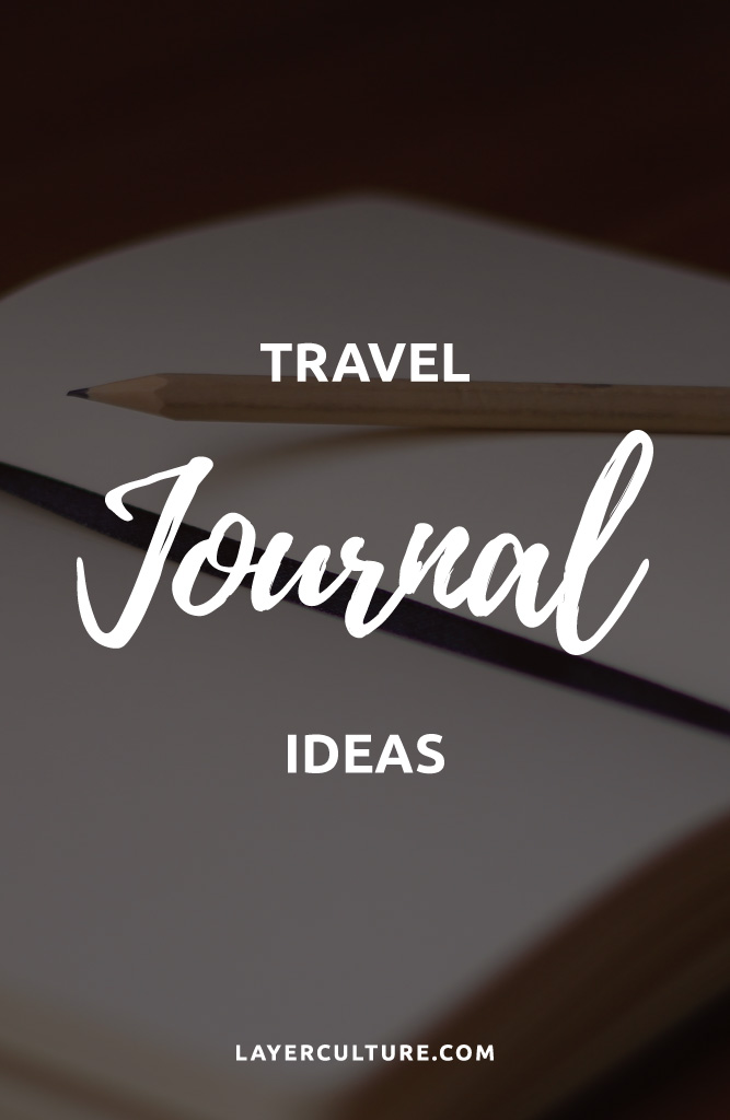 travel journal examples