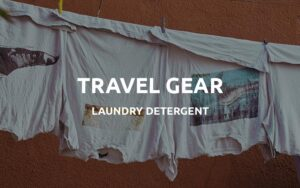 travel laundry detergent