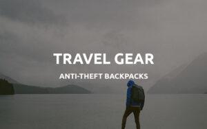anti theft waterproof backpacks