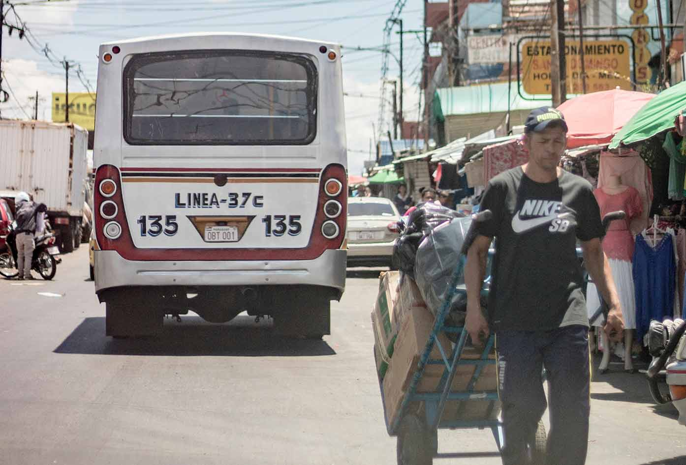 bus in paraguay