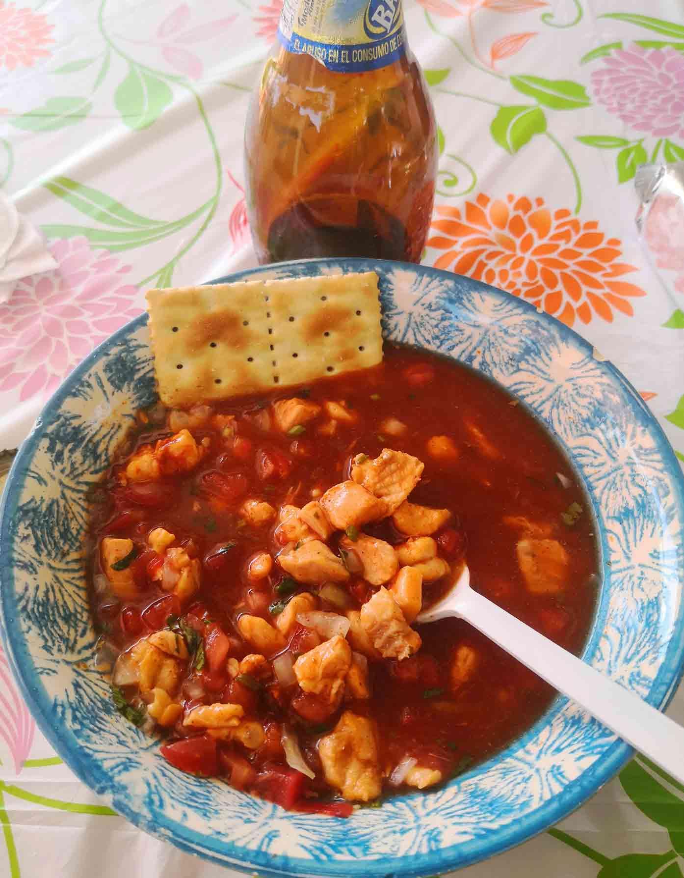 food in acapulco mexico