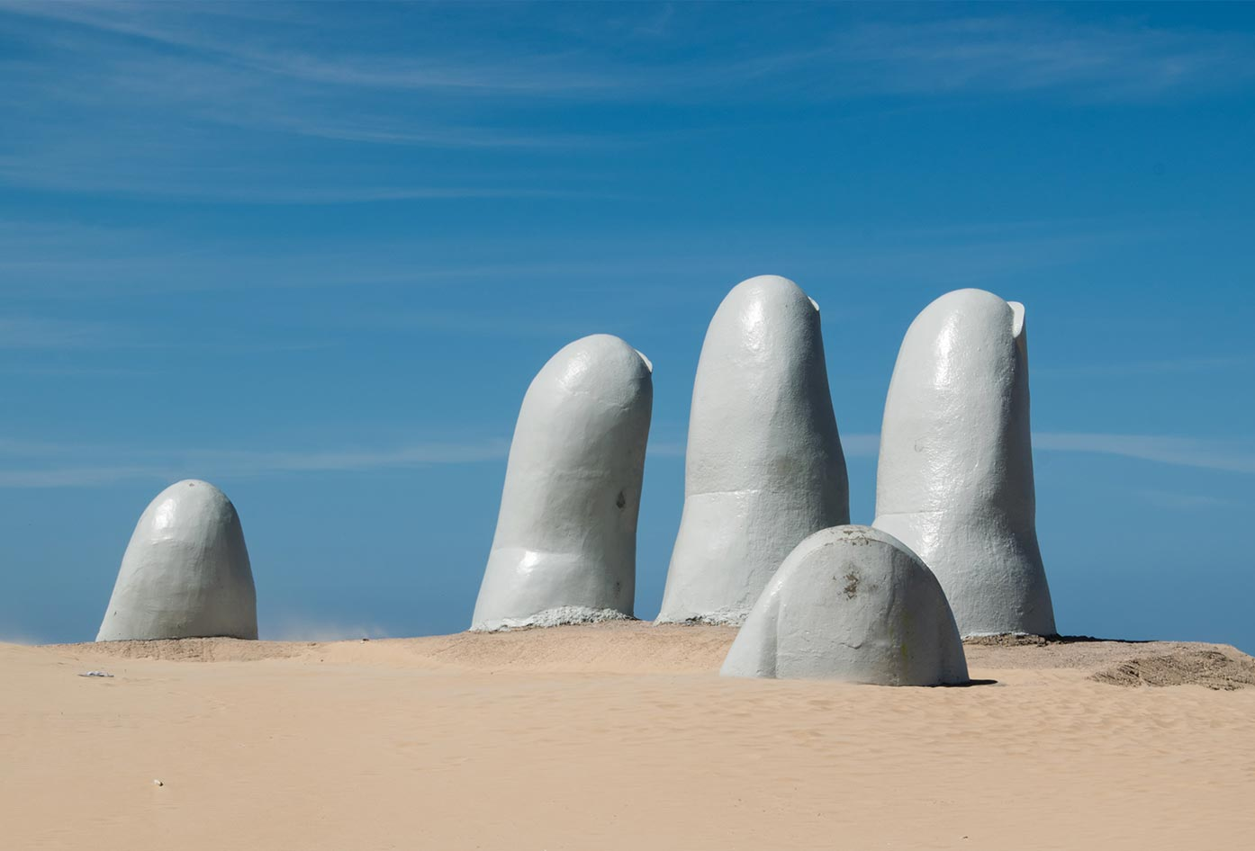 hand in the sand uruguay