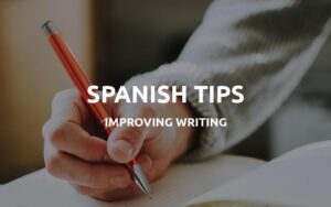 spanish writing practice