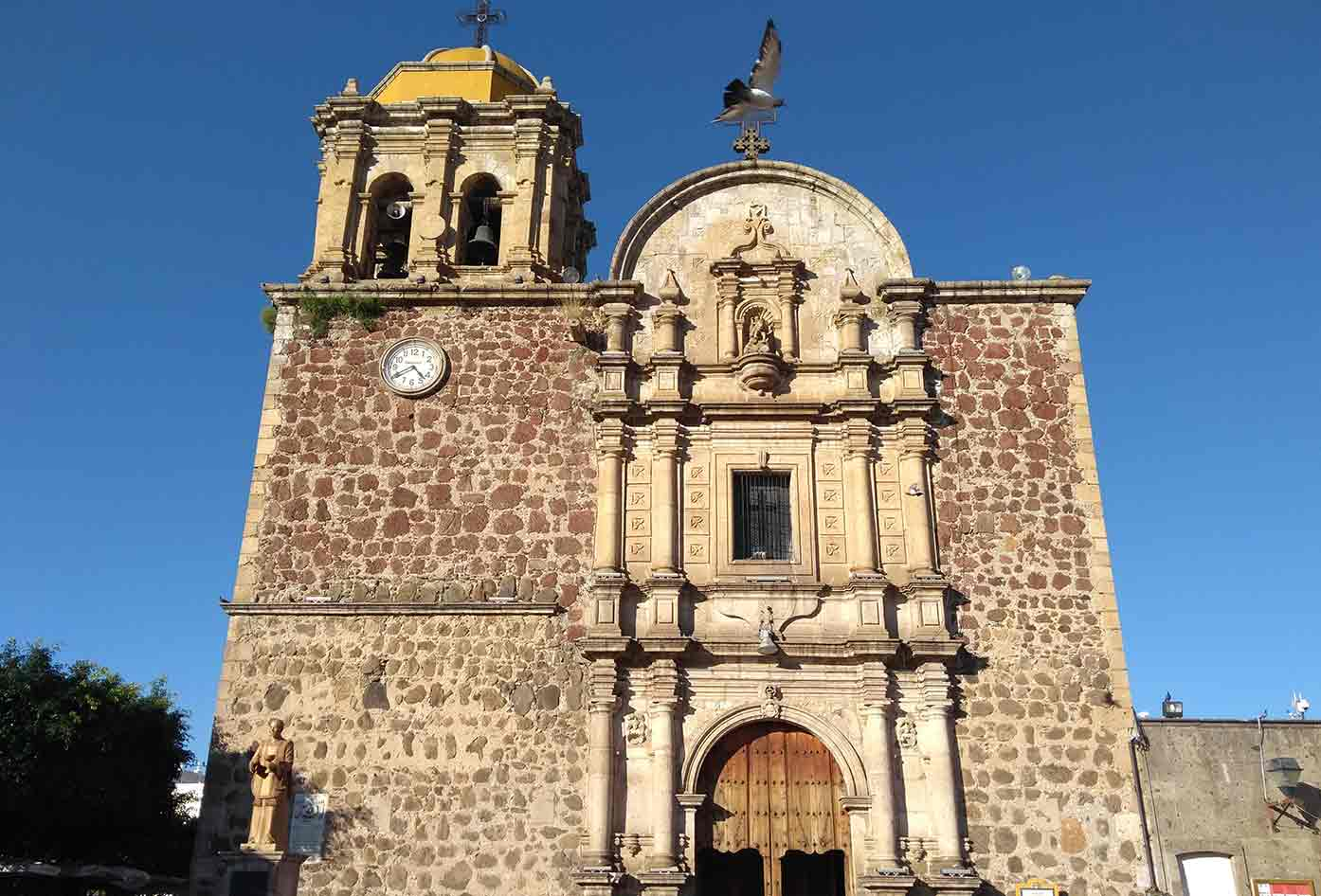 tequila mexico church