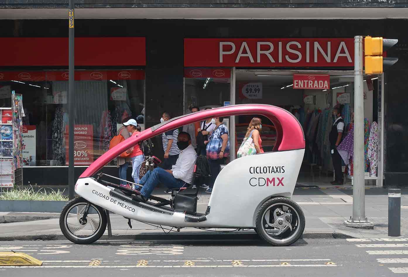 ciclo taxi mexico city