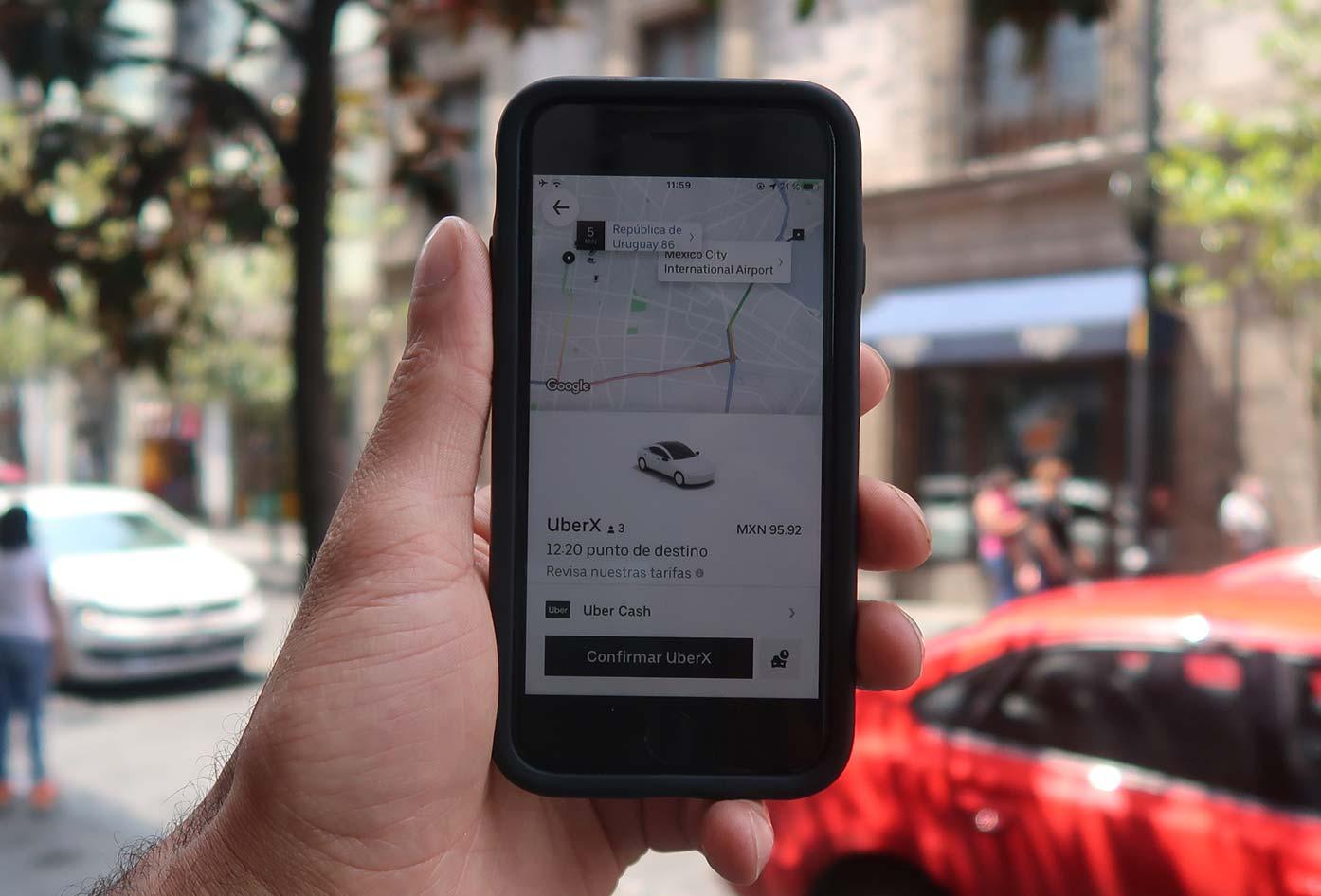 uber confirmation mexico city