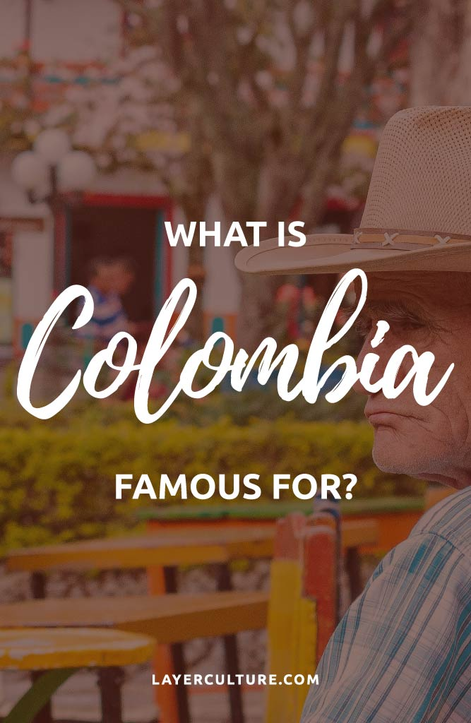 what is colombia known for